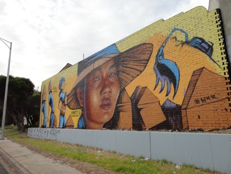 Yorm Bopha - 'Write for Rights 2015 Mural Project'